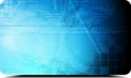 Modern hi-tech background.  Vector