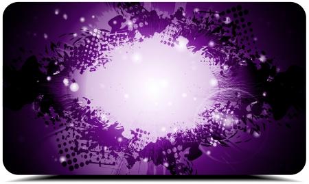 Dark violet grunge background. Stock Vector - 13615095
