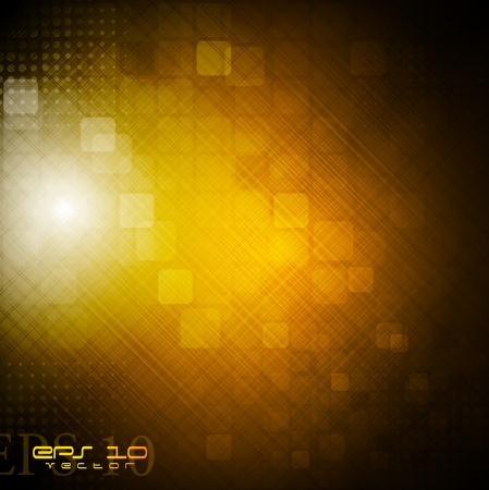Dark technology background  Vector eps 10 Stock Vector - 14560338