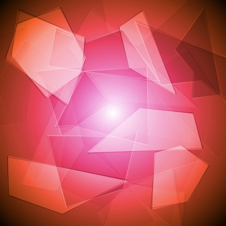 Abstract background with geometrical shapes  Vector illustration Vector