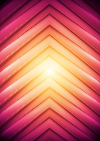light abstract: Abstract background, big arrows   Illustration