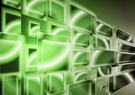 iridescent: Abstract hi-tech background