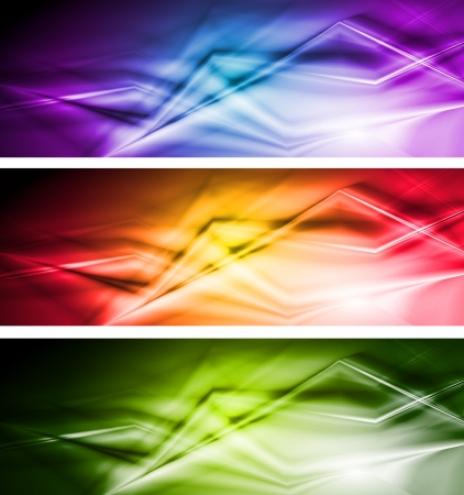 Abstract modern banners   Vector