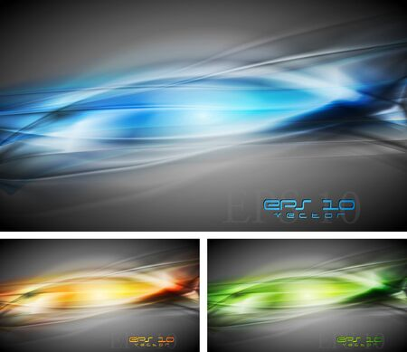 Colourful abstract backgrounds.  Vector
