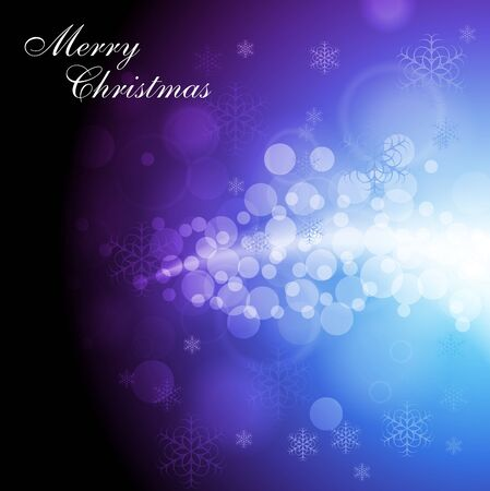 Merry Christmas! Abstract sparkling background with snowflakes. Eps 10 vector design Vector