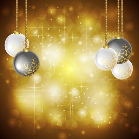 Abstract golden background. Christmas style. Vector design eps 10 Stock Vector - 15994533