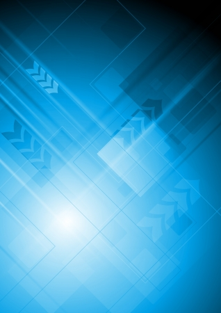technical background: Abstract technology background with arrows