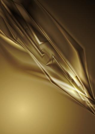 elegant background: Abstract brown shapes background Illustration