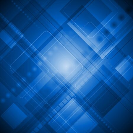 Dark blue hi-tech background   Vector