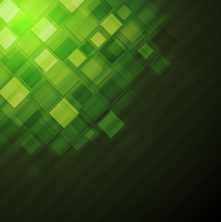 green background: Green abstract technology design. Eps 10 vector background