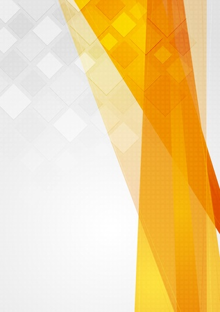 orange background: Abstract technology background. Vector design eps 10 Illustration