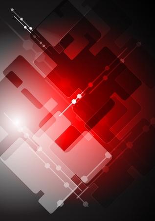 vermelho: Fundo escuro tecnologia vermelho.
