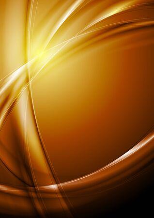 Abstract wavy background. Vector design eps 10 Stock Vector - 16908744