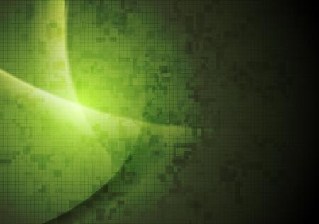 iridescent: Abstract dark green background