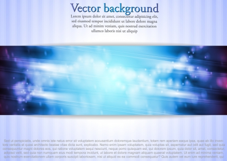 Bright blue/violet abstract background. Vector design eps 10 Vector