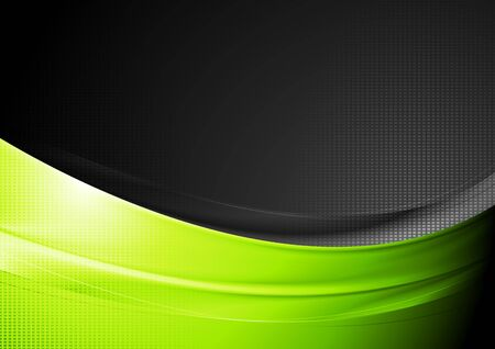 contrast: Abstract contrast wavy background.