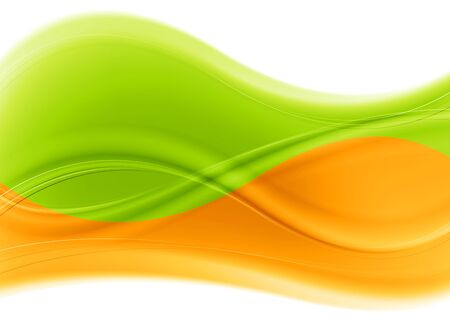 smooth curve design: Abstract multicolored waves background.