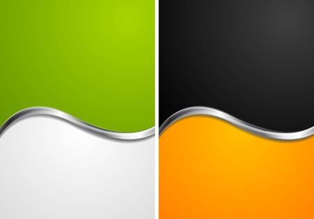 elegant backgrounds: Elegant abstract wavy backgrounds. Vector design eps 10