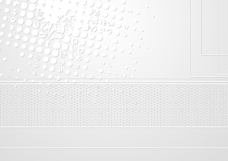 grey abstract background: Abstract light grey tech background. vector design