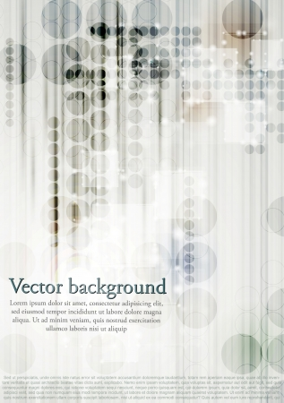 Modern technology design.  Vector