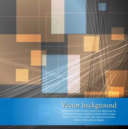 Concept hi-tech abstract background. Vector design eps 10 Vector