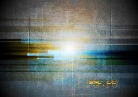 Grunge abstract technology background. Vector design eps 10 Vector