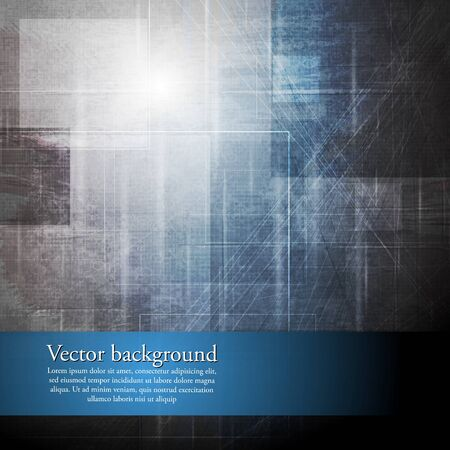 Grunge abstract technology background.  Vector