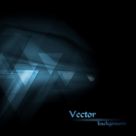 Dark modern technology background. Vector design  Vector