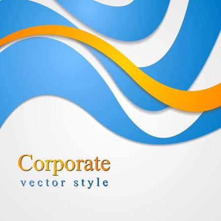 Colourful corporate style design Stock Vector - 21960660