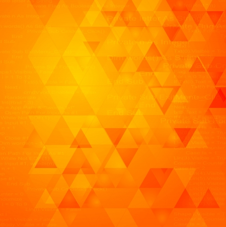 Abstract triangle shapes vector tech design Vector