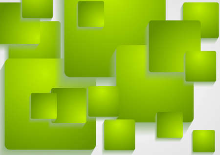 Abstract modern squares shapes vector design Vector