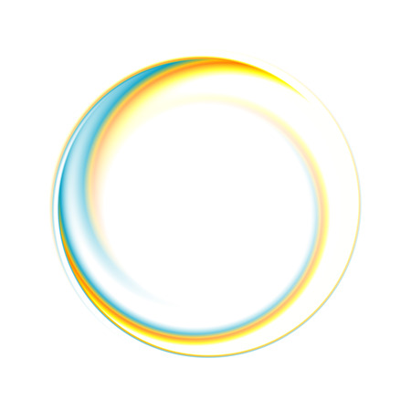 Abstract circle bright background. Vector eps 10