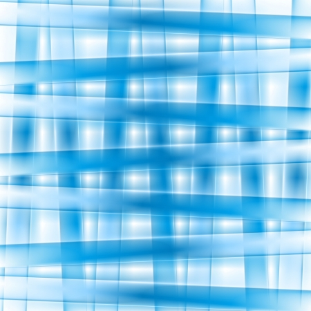 iridescent: Abstract blue vector stripes background Illustration