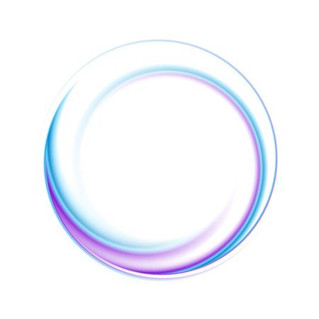 Abstracte cirkel heldere achtergrond. Stock Illustratie