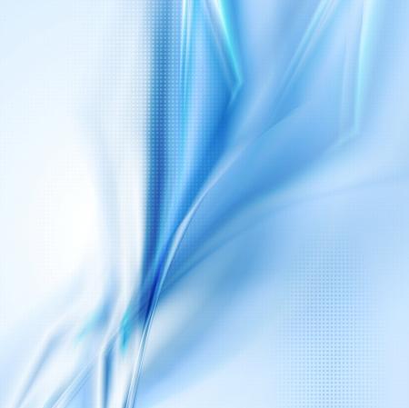 抽象的なブルーの概念  イラスト・ベクター素材