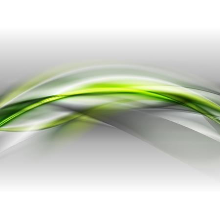 Olas de fondo abstracto del vector del resplandor Foto de archivo - 25210513