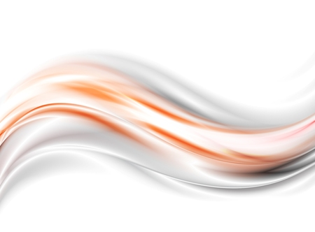 Abstract glow waves vector background