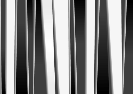Abstract black and white stripes backdrop Vector