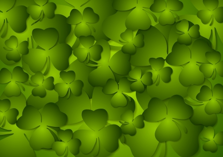 St. Patricks Day abstract vector background Vector