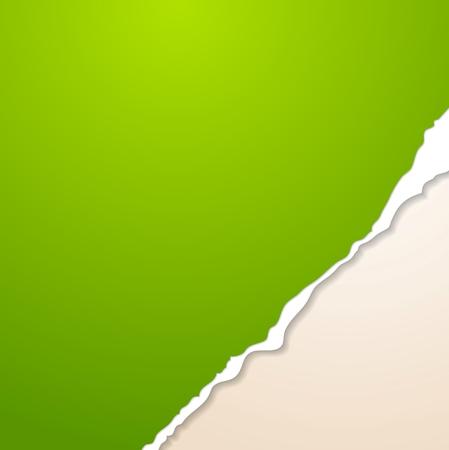 roztrhaný: Abstraktní vektorové papírové pozadí s otrhané okraje