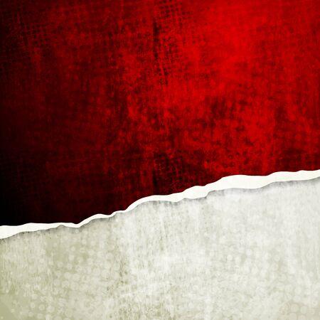 mur grunge: Grunge mur avec le bord cass�. Vecteur de fond eps 10 Illustration