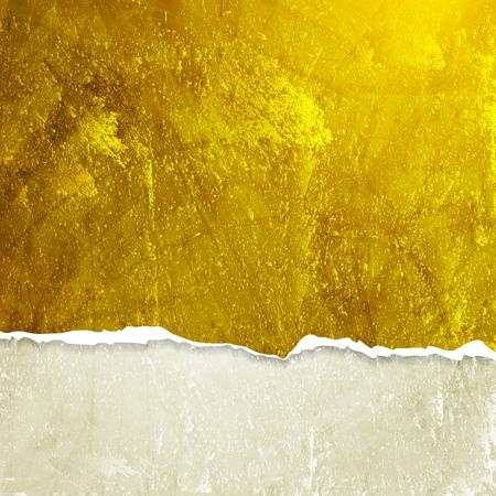 mur grunge: Grunge mur avec le bord cass�. Illustration