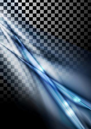 원활한: 추상 부드러운 줄무늬