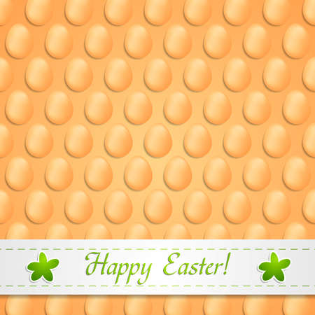 Abstract easter eggs vector background Vector