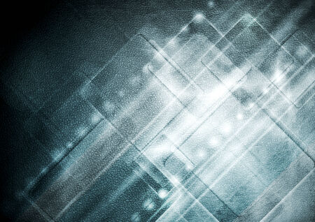 Abstract grunge hi-tech background photo