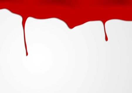 Red blood vector background Vector
