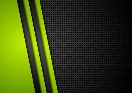 green and black: Corporate dotted abstract background