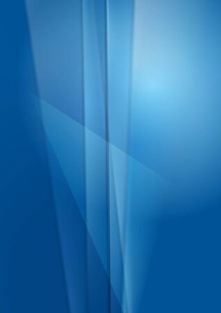 iridescent: Bright blue abstract vector background