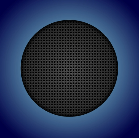 perforated: Abstract dark perforated texture. Vector background