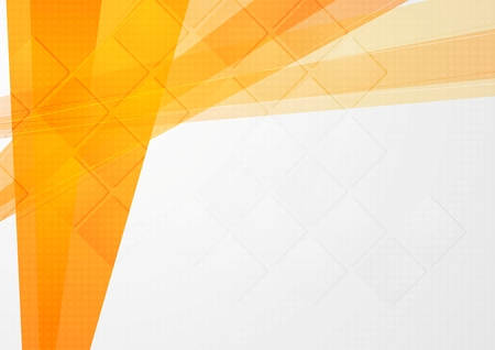 Résumé toile de fond technique orange. Vector design